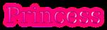 Font Titr Princess Logo Preview