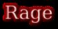 Font Titr Rage Logo Preview