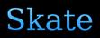 Font Titr Skate Logo Preview