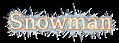 Font Titr Snowman Logo Preview