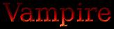 Font Titr Vampire Logo Preview