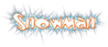 Font Toontime Snowman Logo Preview