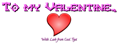 Valentine Symbol Logo Style