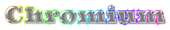 Font Ultra Chromium Logo Preview