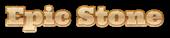 Font Ultra Epic Stone Logo Preview