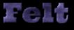 Font Ultra Felt Logo Preview