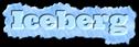 Font Ultra Iceberg Logo Preview