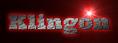 Font Ultra Klingon Logo Preview