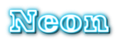 Font Ultra Neon Logo Preview