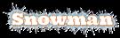 Font Ultra Snowman Logo Preview