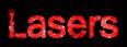 Font 은 자모 돋움 Un Jamo Dotum Lasers Logo Preview