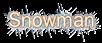 Font 은 자모 돋움 Un Jamo Dotum Snowman Logo Preview