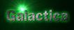 Font 은 옛글 Un Yetgul Galactica Logo Preview
