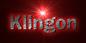 Font 은 옛글 Un Yetgul Klingon Logo Preview