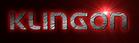 Font Universal Jack Klingon Logo Preview