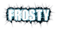 Font Uptown Frosty Logo Preview