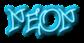 Font Urban Scrawl Neon Logo Preview