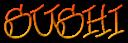 Font Urban Scrawl Sushi Logo Preview