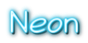 Font Veggieburger Neon Logo Preview
