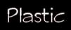 Plastic Logo Style