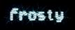 Font Venetia Monitor Frosty Logo Preview