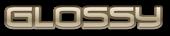 Font Venus Rising Glossy Logo Preview