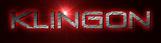 Font Venus Rising Klingon Logo Preview