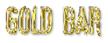 Font Vibrolator Gold Bar Logo Preview