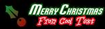 Font Vixene Christmas Symbol Logo Preview