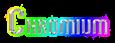Font Vixene Chromium Logo Preview