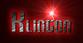 Font Vixene Klingon Logo Preview