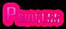 Font Vixene Princess Logo Preview
