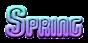 Font Vixene Spring Logo Preview