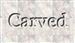 Font Vollkorn Carved Logo Preview