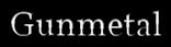 Font Vollkorn Gunmetal Logo Preview