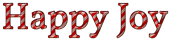 Font Vollkorn Happy Joy Logo Preview