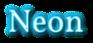 Font Vollkorn Neon Logo Preview