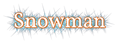 Font Vollkorn Snowman Logo Preview