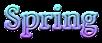 Font Vollkorn Spring Logo Preview