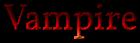 Font Vollkorn Vampire Logo Preview
