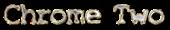 Font X-Files Chrome Two Logo Preview