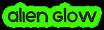 Font Xenophone Alien Glow Logo Preview