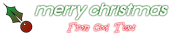 Font Xenophone Christmas Symbol Logo Preview