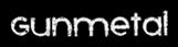 Font Xenophone Gunmetal Logo Preview