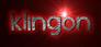 Font Xenophone Klingon Logo Preview