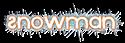 Font Xenophone Snowman Logo Preview