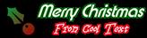 Font Xpressive Christmas Symbol Logo Preview