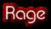 Font Xpressive Rage Logo Preview