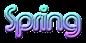 Font Xpressive Spring Logo Preview