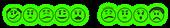 Font Xprssionism Alien Glow Logo Preview